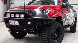Ford Ranger -TJM steel chaser Bullbar