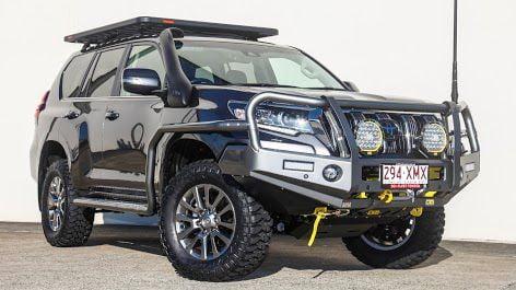 Toyota Prado GVM