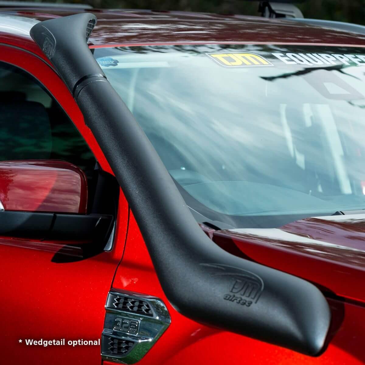 Airtec Snorkel Kit Black Polyethylene