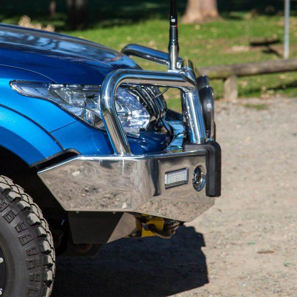 Triton Signature Bull Bar Polished Alloy