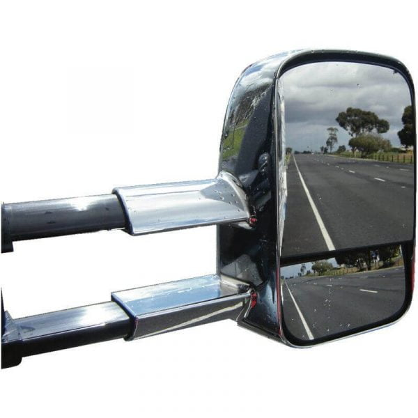 CLEARVIEW TOWING MIRRORS ELECTRIC CHROME